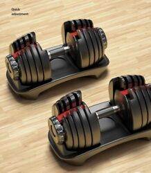 New Adjustable Dumbbells 552 A Pair Order now and Ship ASAP $339.00