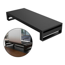Metal Computer Monitor Desk Stand Riser Support Office Table Organizer $44.71