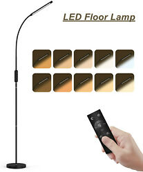 Adjustable Standing Lamp with Remote and Touch Control Dimmable LED Floor Light $39.90
