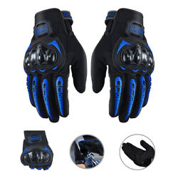 Motorcycle Gloves Full Finger Guantes Moto Riding Racing Touch Screen Bike Glove $13.69