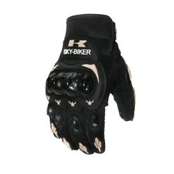 Cycling Gloves Bicycle Gloves Full Finger Shock Absorbing Black Good quality $10.99