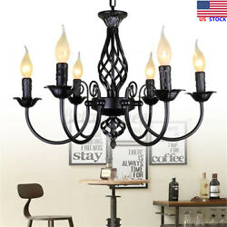 US Chandelier Hanging Candle Ceiling Lights Lamp Pendant Fixtures Home Decor $49.19