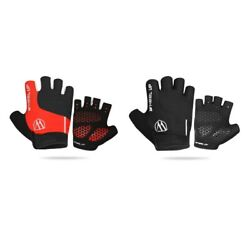 1 Pair Cycling gloves Mesh cotton Cycling Finger Gel Gloves Hiking High quality $15.57