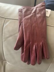 coach leather gloves women $50.00