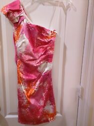 Xtra Ordinary Junior Party Dress One Shoulder Size 3 Made in USA $19.99