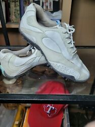 FOOTJOY WOMENS LOPRO collection GOLF SHOES 8.5M pre owned %100 returns $18.00