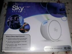BlissLights Sky Lite Laser Projector w LED Nebula Cloud*Moving Stars* Classic $42.99