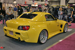 Wide Body Kit for 00 09 Honda S2000 w bumpers fenders side skirts 5 of 6 $445.00