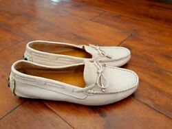 Mercanti Fiorentini Womens Leather Driving Moccasins Slip On Shoes Sz 9M NEW $39.00