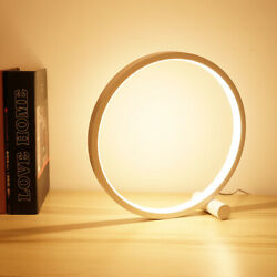 5W LED Table Lamp Bedroom USB Round Desk Lamp Dimmable Reading Lamp Night Light $26.99