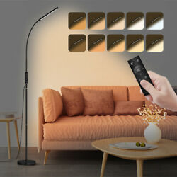 Adjustable Standing Lamp with Remote and Touch Control Bedroom LED Floor Light $39.90