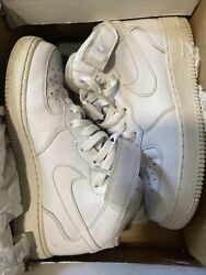 Nike Air Force 1 Mid WHITE Size 7.5 $25.00