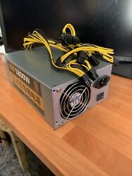 Antminer 1800W PSU JM 1800W APW7 90 Plus Gold for GPU mining and Antminers $240.00
