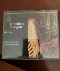Rossini: L#x27;Italiana in Algeri CD Feb 1998 2 Discs Opera D#x27;Oro $15.00