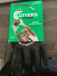 Cutters Football Gloves Youth L XL $15.00