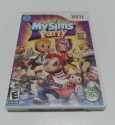 My Sims Party For Nintendo Wii Complete With Manual $2.89