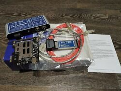 RME HDSPE Madiface with PCIE adapter amp; 5m optical cable $350.00