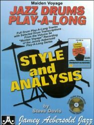 MAIDEN VOYAGE JAZZ DRUMS PLAY A LONG: STYLES amp; ANALYSIS By Steve Davis $31.49