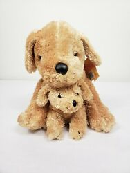 Kohls Cares Golden Retriever Mom and Puppy 10quot; Plush Stuffed Animal Toy Soft $17.00