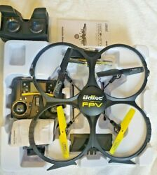 UDI RC U818A Discovery RC Quadcopter Drone with 720p Camera FOR PARTS $29.99