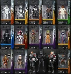 Star Wars THE MANDALORIAN TESB TCW REBELS The Black Series 6 Inch Figures 2021 $34.95