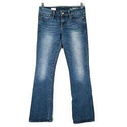 Gap 1969 Womens Size 28R Jeans Sexy Bootcut Low Rise Blue $23.67