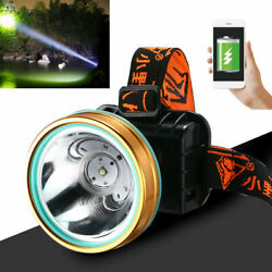 Super Bright Waterproof Head Torch Headlight LED Rechargeable Headlamp Work New $15.90