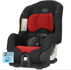 Evenflo Tribute LX Convertible Rear Facing Car Seat Limited Red unisex any car $129.94