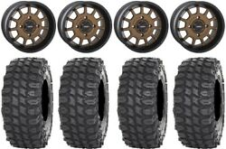System 3 ST 5 Bronze 15quot; Wheels 35quot; X COMP Tires Can Am Renegade Outlander $1595.08