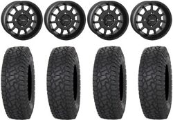 System 3 ST 5 Black 15quot; Wheels 33quot; X COMP AT Tires Can Am Defender $1542.96
