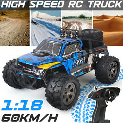 1:18 Remote Control Car High Speed RC Electric Monster Truck Off Road Vehicle ⇡ $33.06