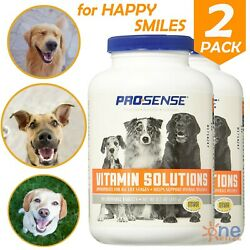 Dog Multi Vitamins All Life Stages Dogs Health Care Chewable Tablets 2x 90 Count $14.65
