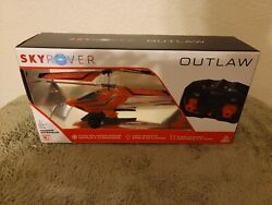 SkyRover Outlaw Helicopter Remote Controlled New $29.99