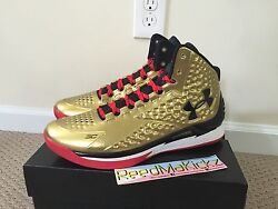 Under Armour UA SC30 Steph Curry 1 One Mid Gold All American Mens 1275292 777 $189.99