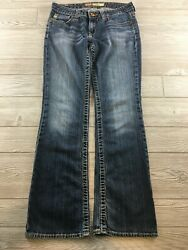 Big Star Women#x27;s Jeans REMY Low Rise Fit size 28R Distressed $25.19