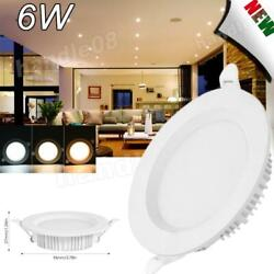 Ultrathin LED Panel Light Recessed Square Ceiling Lamp Kitchen Fixtures $51.69