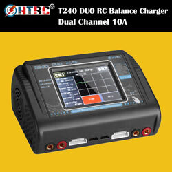 HTRC T240 DUO RC Charger Discharger Dual Channel AC 150W DC240W Balance Charger $95.75
