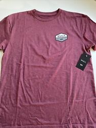 New RVCA Designer Men#x27;s Street Art Sport Skater Surfer Tee Shirt Size Large