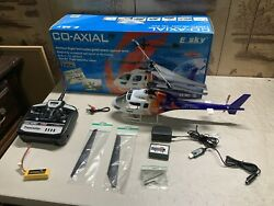 E Sky Co Axial Remote Control Helicopter With Original Box Accessories $139.99