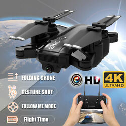Drone WiFi FPV RC Drones 4K HD Camera Foldable Quadcopter Gesture Shot Gifts $42.49