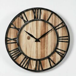 Vintage Classic Wall Clocks Wooden Metal Watches Antique Styles Retro Home Clock $257.99