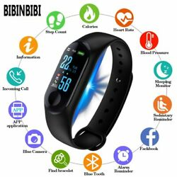 Bluetooth Women Smart Watch Heart Rate Blood Pressure Monitor connection $13.65