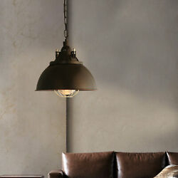 Rustic Industrial Vintage Shade Pendant Light Hanging Ceiling Lamp Fixture E27 $44.33