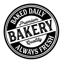 Bakery Baked Daily Always Fresh Vinyl Decal Sticker For Home Wall Kitchen Choice $4.99