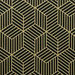Peel and Stick Wallpaper Contact Paper Gold and Peel and Stick 17.7quot;X118quot; Black $14.79