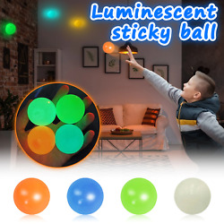Stick Wall Target Ball Stress Sucker Sticky Decompression Toys for Kid and Adult $11.90
