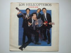 HELICOPTEROS MUSICA PEP LP ARGENTI 80#x27;S NEW WAVE $45.00