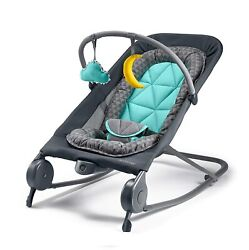 Summer 2 in 1 Bouncer amp; Rocker Duo Baby Bouncer amp; Baby Rocker Gray Green $52.00