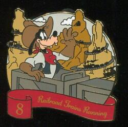 12 Days Of Christmas Mystery Goofy 8 Railroad Trains Running Disney Pin $14.95