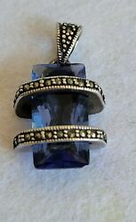 Vintage Pendant Jewelry Sterling Silver $8.50